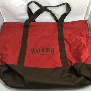 Bag The Walking Company Tote Shopping Large Red